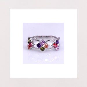 NEW | Multicolored Gems Ring | Size 7